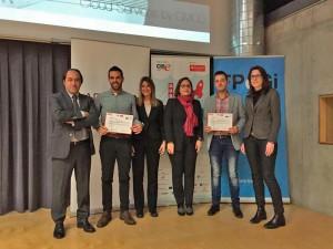 Acte d'entrega dels Premis YUZZ al centre de Girona 2015 al Parc Científic i Tecnològic de l'UdG 1