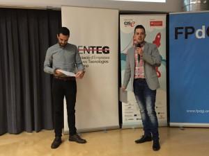 Acte d'entrega dels Premis YUZZ al centre de Girona 2015 al Parc Científic i Tecnològic de l'UdG 2
