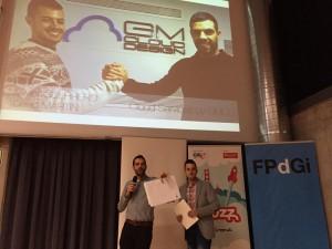 Acte d'entrega dels Premis YUZZ al centre de Girona 2015 al Parc Científic i Tecnològic de l'UdG 7