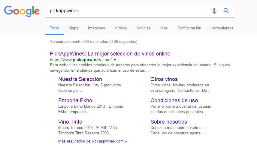 gmclouddesign-pickappwines-seo-google