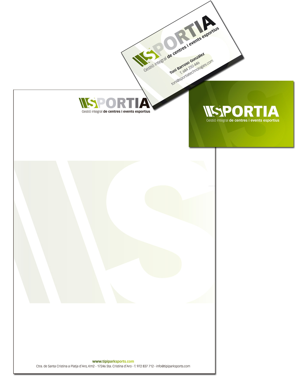 Papereria bàsica d'SPORTIA technologies